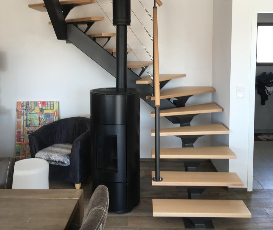 Escalier sur-mesure Vendée - ABEG