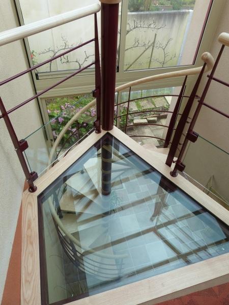 Escalier plusieurs matières - ABEG