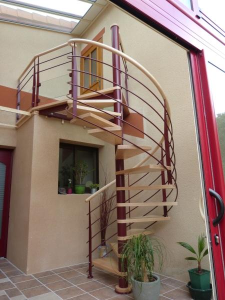 Escalier espaces restreints Vendée - ABEG