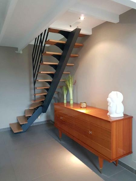 Escalier et garde-corps le Roche sur Yon - ABEG