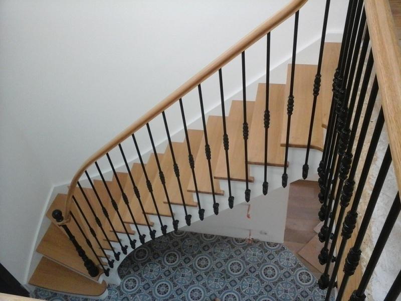 Escalier à l'anglaise la Roche sur Yon - ABEG
