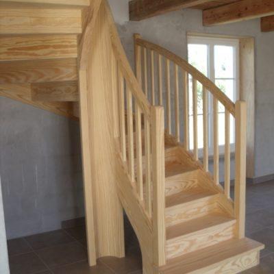Escalier tout bois - ABEG
