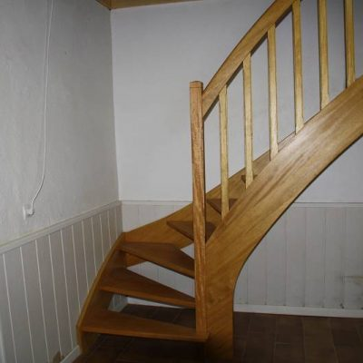 Escalier avant travaux - ABEG