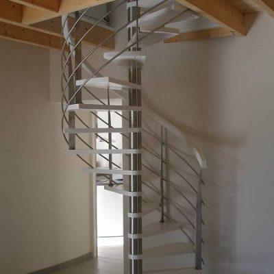 Escalier inox la Roche sur Yon - ABEG