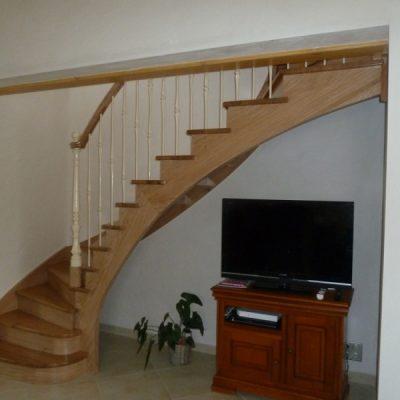 Escalier à l'anglaise blanc - ABEG