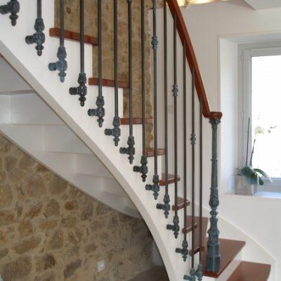 Escalier à l'anglaise bois Vendée - ABEG